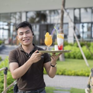 Cafe tại Cocoland River Beach Resort and Spa