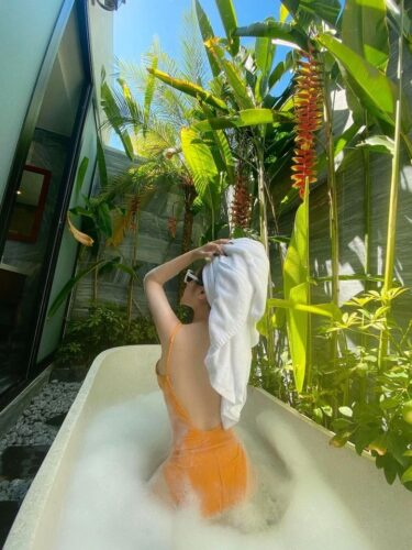 Khach hang nghi duong tai Cocoland River Beach Resort and Spa